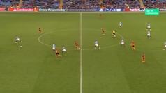 Gol de Gabriel Jesus (6-0) en el Manchester  6-0 Shakthar