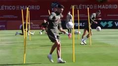 El Atleti vuelve pensando en el Huesca