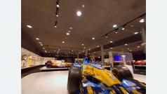 Una vuelta al museo de Alonso en dron