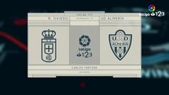 MX: LaLiga 123 (J17): Resumen y goles del Oviedo 1-2 Almería
