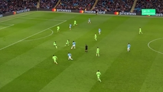 Gol de Gabriel Jesús (7-0) en el Manchester City 7-0 Schalke 04