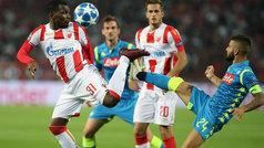 Champions League (J1): Resumen del Estrella Roja 0-0 Nápoles