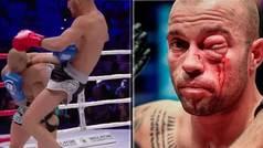 Brutal rodillazo en el ojo de Cecchetti a Avogadro en el Bellator Kickboxing