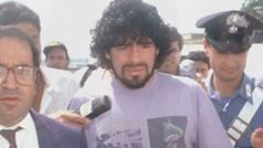 """Maradona tenia un alma turbia y borrosa"""