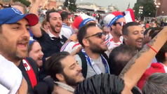 Fiesta francesa en Moscú