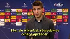 Las palabras de Morata sobre Cristiano Ronaldo... tras 'robarle' el gol