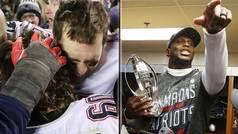 Las lágrimas de Brady y la fiesta de los Patriots tras clasificarse para la Super Bowl LIII