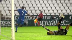 Copa del Rey (1/16, ida): Resumen y goles en el Córdoba 1-2 Getafe