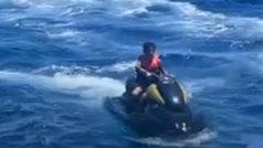 Polémica: la temeridad del Cristiano Ronaldo Jr. en moto de agua que podría salirle cara