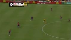 ¡Karius casi la lía a los tres minutos del partido ante el Dortmund!
