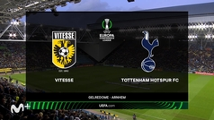 Conference League (J3): Resumen y gol del Vitesse 1-0 Tottenham