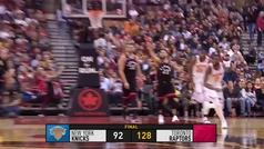 Raptors 128-92 Knicks