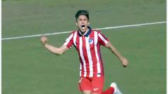Giuiliano Simeone se estrena con un gol de puro 'killer' en el Atlético B