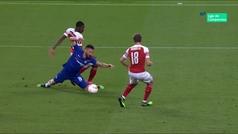 Gol de Hazard (p.) (3-0) en el Chelsea 4-1 Arsenal