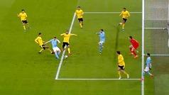 Gol de De Bruyne (1-0) en el Manchester City 2-1 Borussia Dortmund