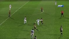 El espectacular gol de Diego Cervero con el Barakaldo al filial de la Real