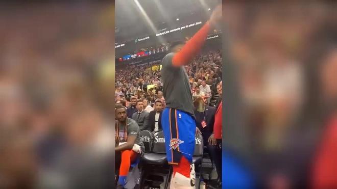 Ibaka y Westbrook, sancionados en la NBA