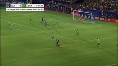 Ibrahimovic marca un doblete... pero la pifia en un pase de la muerte y les empatan