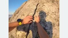 ¡De vértigo! La última escalada de Kilian Jornet: el mundo a sus pies