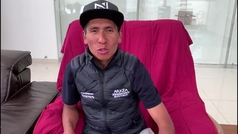 Así fue la explicación de Nairo Quintana al accidente que tuvo