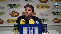 La polémica entre el entrenador del Lleida y un periodista por contestar en catalán