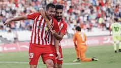 LaLiga 123 (J5): Resumen y goles del Almería 2-1 Zaragoza