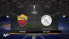 Europa League (1/4, vuelta): Resumen y goles del Roma 1-1 Ajax