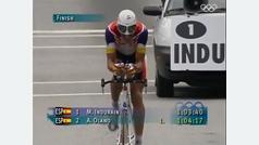Indurain, oro olímpico en Atlanta 1996