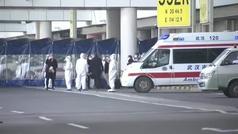Más de un año después del inicio de la pandemia, la OMS llega a Wuhan