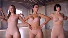 El baile grupal de Georgina Rodríguez en ropa interior para su última campaña viral