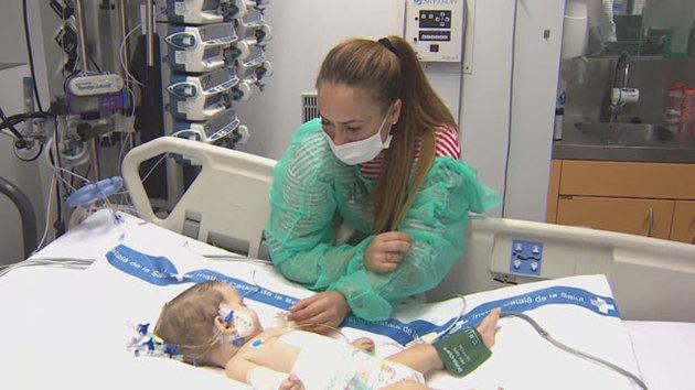 57f08e358a98b Video thumbnail for Un trasplante de hígado salva la vida de dos niñas