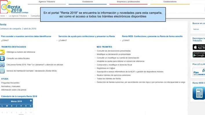Aeat Calendario Fiscal 2019.Conozca El Portal De Renta 2018