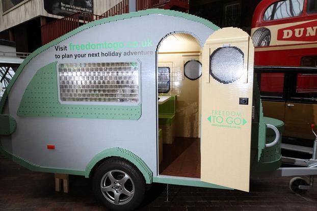 000 De Fabricada Con La 215 Lego Caravana Bloques SGqVLpUzM