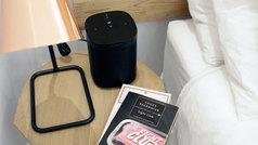 El asistente de voz de Amazon, Alexa, habla para los altavoces Sonos