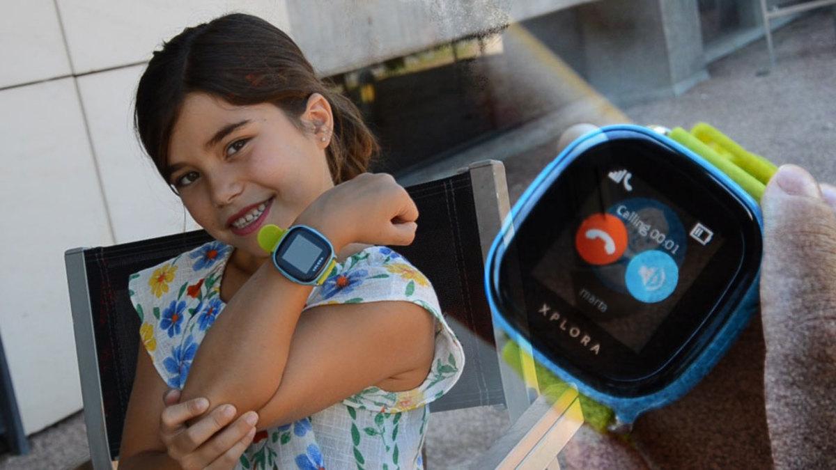 diseño elegante elegir despacho excepcional gama de estilos y colores Xplora, el reloj inteligente para localizar a los niños