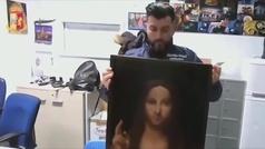 Recuperan el Savator Mundi de Leonardo Da Vinci