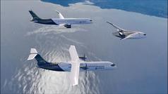 Así serán los tres aviones cero emisiones de Airbus
