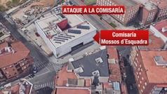 Los Mossos consideran el ataque a la comisaría de Cornellà como un atentado terrorista