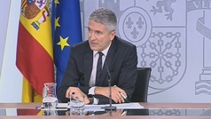 """Marlaska asegura que se puede visitar Barcelona con """"total normalidad"""""""