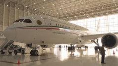 López Obrador pone a la venta el avión presidencial