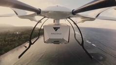 Los drones alemanes que alcanzan los 240 kilómetros por hora para llevar vacunas