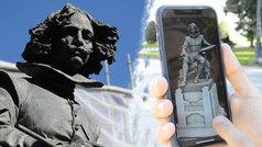 Así se crea la réplica en 3D de una obra con siglos de historia