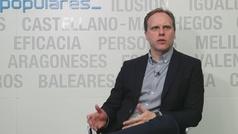 """Daniel Lacalle (PP): """"El Impuesto de Sociedades podría bajar al 15%al final de la legislatura"""""""