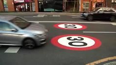 Bilbao limita la circulación a 30 km/h