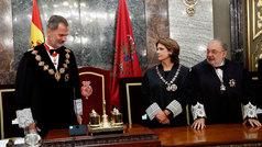 El rey preside la apertura del año judicial
