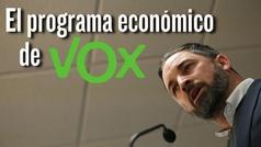 Analizamos el programa económico de Santiago Abascal