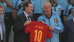 Rajoy, de la política... ¿al fútbol?