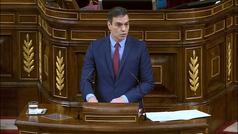 """Sánchez subraya que prorrogar la alarma """"sigue siendo esencial"""""""