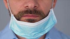 La barba influye en el tipo de mascarilla a utilizar