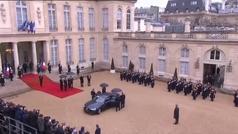 Macrón llama a la unidad en el centenario del fin de la Primera Guerra Mundial